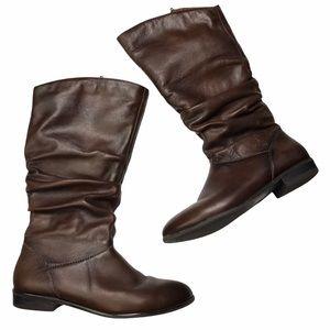 Aldo Leather Brown Boots Sz 8